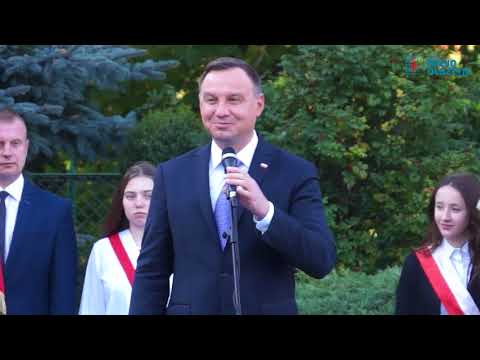 Prezydenta Andrzej Duda odwiedził Jeziorany (27.09.2017r.)