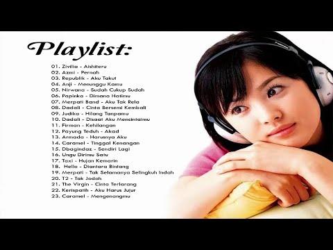 23 Lagu Enak Didengar [Zivilia, Anji, Judika, Republik, Azmi, Armada, Nirwana] Lagu Pop Indo 2018