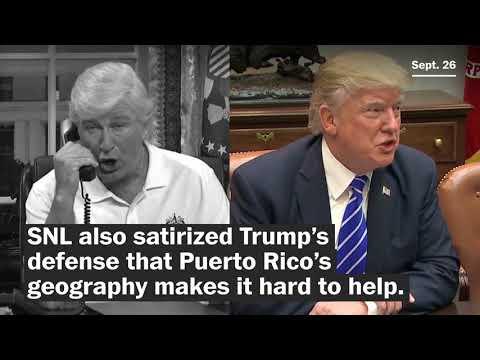 'SNL' takes on Trump's Puerto Rico response