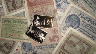 Золотые слитки Reichsbank Gold !  золото Рейха ! ВСЕ НА КОП 2016 года !  Видео кладоискатели !(, 2016-03-16T12:09:07.000Z)