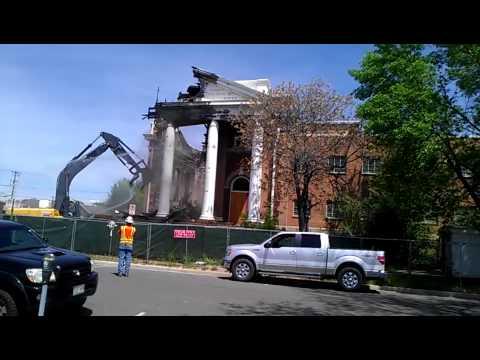 White Hall demolition column 2