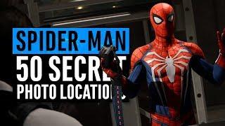 Spider-Man PS4 | All 50 Secret Photos Locations (Hidden Suit)