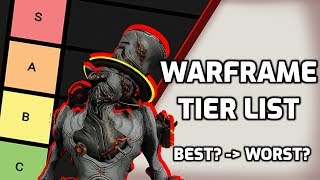 Warframe Tier list - What are the best and worst Warframes?