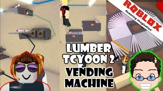 Roblox - Lumber Tycoon 2 - Vending Machine Logic [Concept]