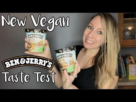 NEW VEGAN BEN & JERRY'S TASTE TEST!