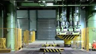 Siempelkamp Industrial Docu Dillinger Hütte Saarstahl - straightening press 6500to