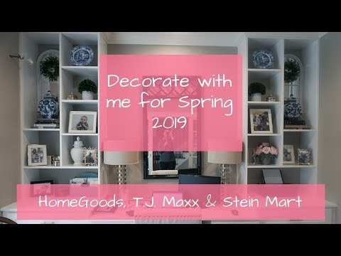Spring 2019 Decorate With Me | Decorating my home office for spring
