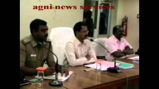 THENI ... DISTRICT ELECTORAL OFFICER HOLDS TALKS WITH LOCAL CABLE TV OPERATORS