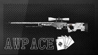 CS:GO: Aggressive AWP Ace   Mirage