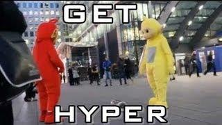 Teletubbies Dancing GET HYPER!