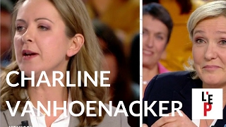 L'Emission politique : Charline Vanhoenacker face à Marine Le Pen le 09 février 2017 (France 2)