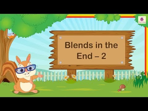 Ending Consonant Blends | English Grammar For Kids | Periwinkle