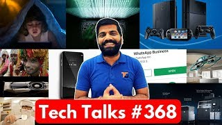 Tech Talks #368 - 2018 iPhone, LG Signature, 3D Printer India, Chinese Hackers, Drone Office