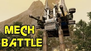 far cry 4 custom map fun #4: mech battle, high dive free fall, driving circuit & rope swing!