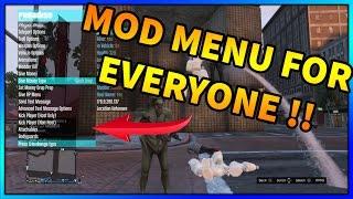 GTA 5 ONLINE - PARADISE MOD MENU | GIVE PLAYER MOD MENU |  SPRX PS3 (GTA V MODS)
