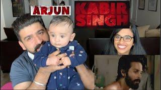 Kabir Singh Trailer Reaction With Our Arjun | Shahid Kapoor |