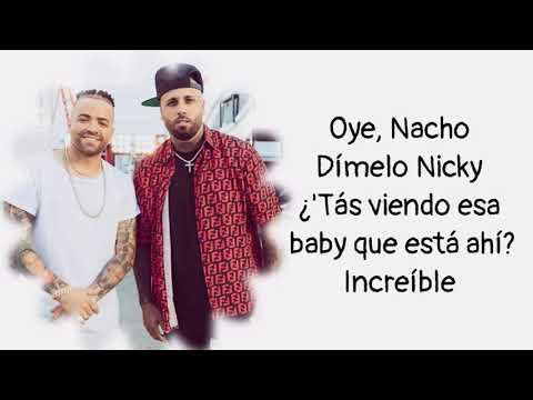 Nacho Y Nicky Jam - Mona Lisa (Letra)