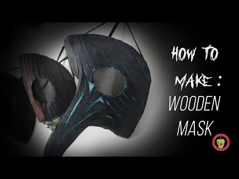 How To A Wooden Mask