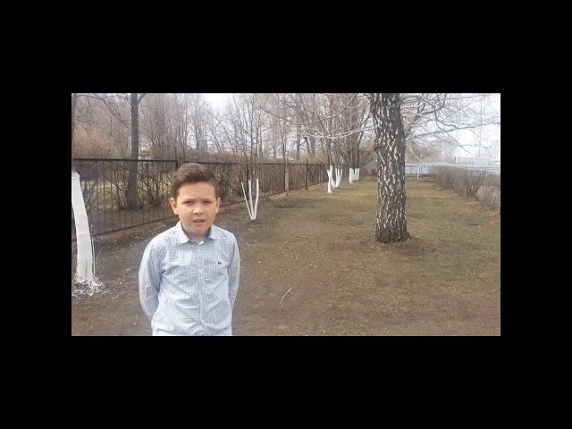 Изображение предпросмотра прочтения – КириллРябухин читает произведение «Весенние воды (Еще вполях белеет снег…)» Ф.И.Тютчева
