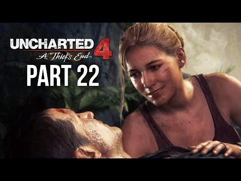 Uncharted 4 Gameplay Walkthrough Part 22 - NO ESCAPE (Chapter 20)