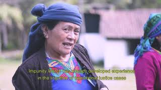 Achi Women Seeking Justice