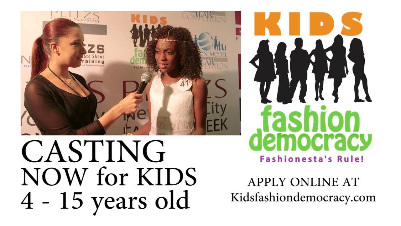 KIDS Fashion Democracy Show in New York