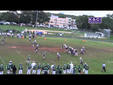 "Codey Fisher Football Highlight Video - 6'4"" RT/LDE - Greenport High School (NY) 2014"