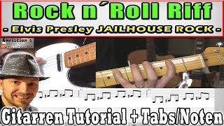 "★Rock and Roll Riff: Elvis Presley JAILHOUSE ROCK ""Easy"" 