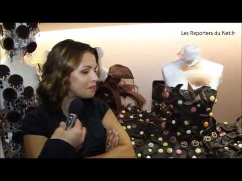Séverine Ferrer - Salon du Chocolat de Paris