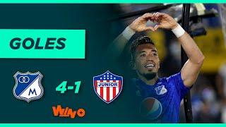 Millonarios vs. Junior (4-1)   Lİga BetPlay Dimayor 2021-II   Fecha 15