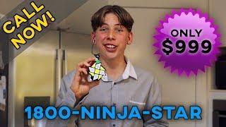 Gambar cover The Ninja Star Cube   Cubing Skit