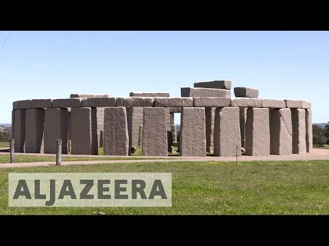 Australia: Stonehenge replica attracts tourists