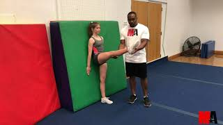 How's Your Toe Touch?? CHEER Tips & Tricks - Leg Lifts