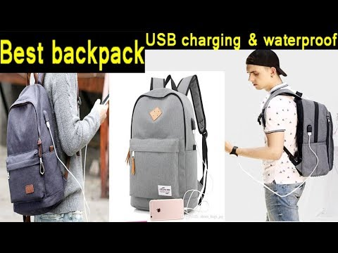 ee36332b7bd3 Best backpacks 2017 USB Charging