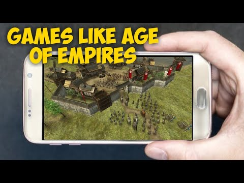 TOP 10 Mobile Games Like Age Of Empires Android/IOS 2020