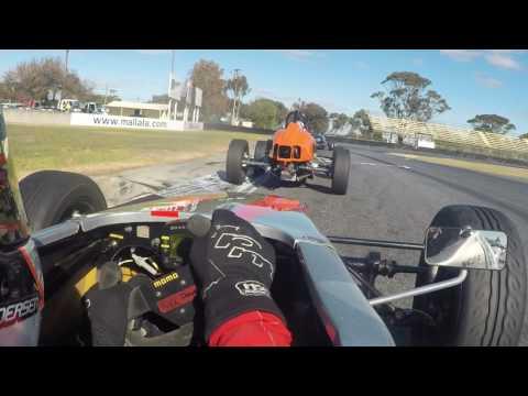 Formula Vee Australian drivers series mallala 2017