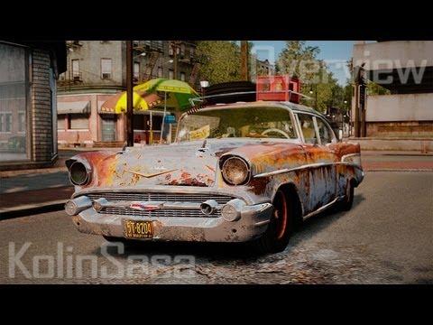 Chevrolet Bel Air 1957 Rusty