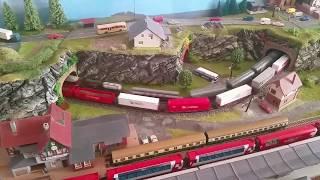 Spur N Modellbahn noch mal Minitrix Ludmilla 2 Stück im Test