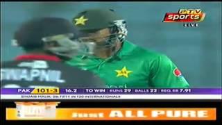vuclip Malik hits a solid 63  under pressure   Ptv Sports