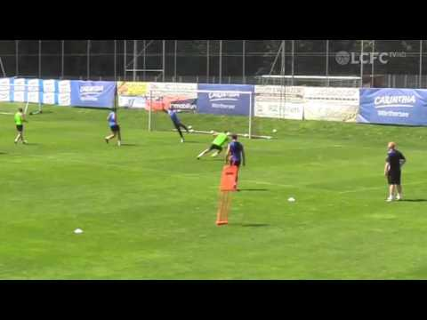 Leicester's Marc Albrighton Scores 2 Identical Screamers In Training