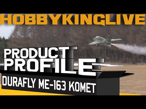 Durafly Me-163 Komet - Product Profile