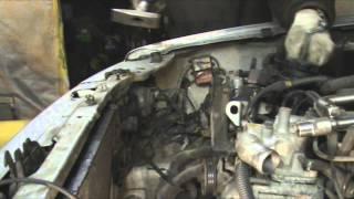 Mitsubishi Pajero Sport I 3.0. Замена ремня ГРМ.Часть 1.Разборка.