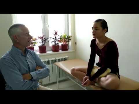 Разрыв связок у балерины, лечение за 3 дня, метод доктора Попова