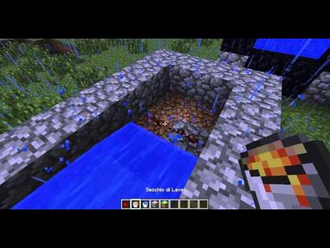 Ossidiana Infinita E Portale Per Il Nether In Minecraft