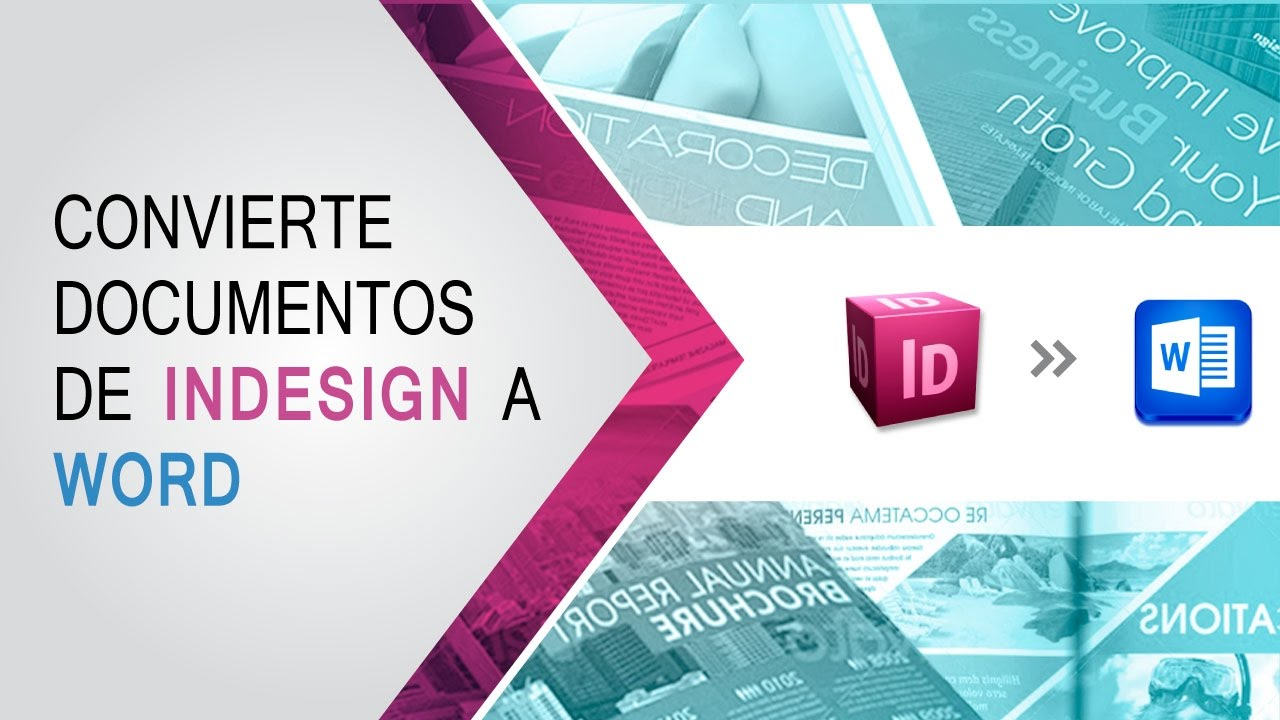 Elabora una plantilla de MS Word basado en un documento de Indesign ...