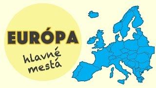 Poznáš hlavné mestá Európy na 100%?