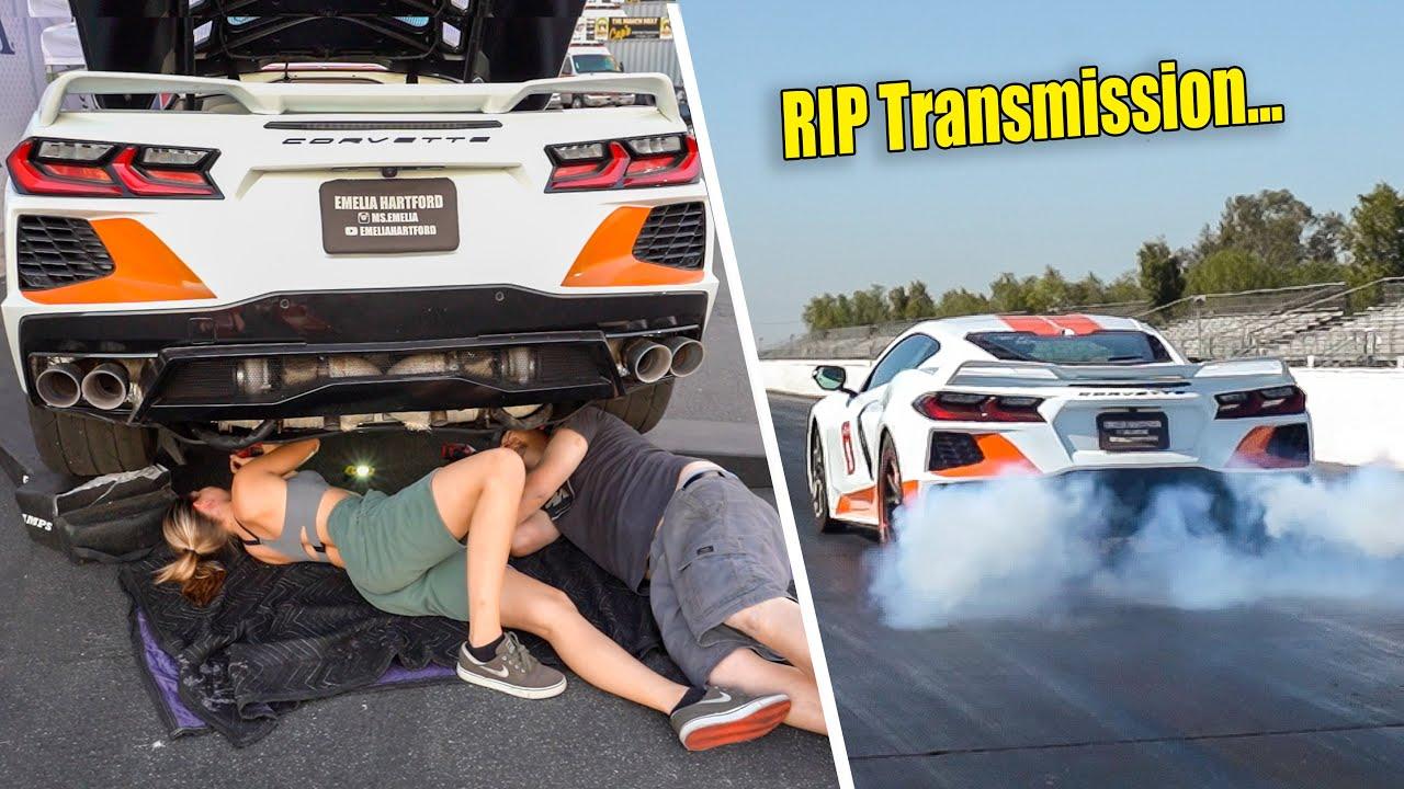 We pushed Phoenix too hard... Bad News For Twin Turbo C8 Corvette.