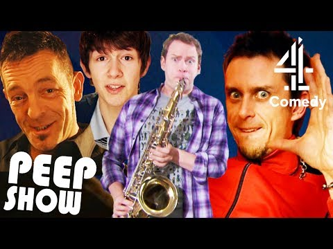 Jeremy & Super Hans' Best Musical Moments! | Peep Show