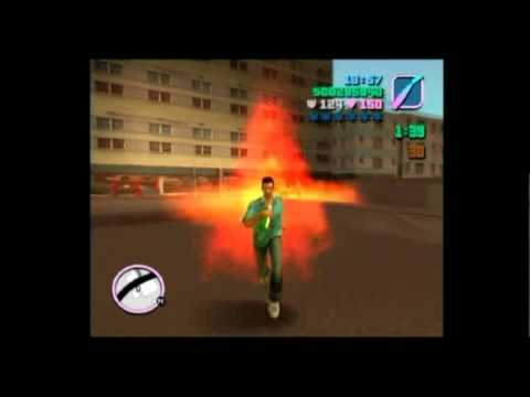 GTA Vice City Rampage 30 Molotov. Gameplay Commentary