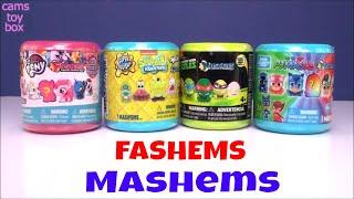 My Little Pony SpongeBob PJ MASKS TMNT Squishy FASHEM MASHEMS TOYS Opening Surprises